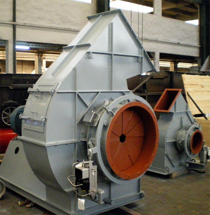 Industrial Blowers Manufacturers : Industries fertilizer industrial fans blowers