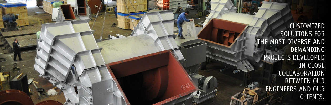 Industrial Fans Blowers Manufacturer - Axial Fans - Centrifugal Blower